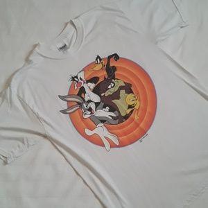 Vintage TM & Warner Bro's S/L T-Shirt Sz Large